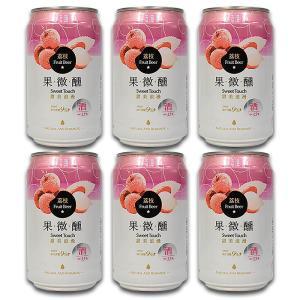【台湾ライチビール 6本セット】 「台湾ビール(タイワンピージョウ)」は、90年の歴史を持つ台湾最大...