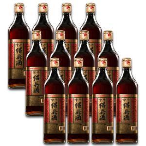 紹興酒 台湾 お土産 お酒   8年 陳年紹興酒 600ml 12本 kinmenbaystore
