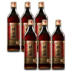 紹興酒 台湾 お土産 お酒   8年 陳年紹興酒 600ml 6本 kinmenbaystore