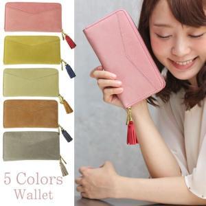 大容量 レディース 長財布 かわいい ピンク コインケース 小銭入れ 誕生日 プレゼント フルーレット|kinmokusei
