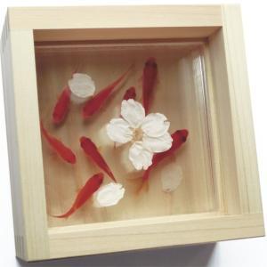 枯れないお花やもみじプリザーブドフラワーとアクリルアートです。  縁起 プレゼント 敬老の日 子供の...