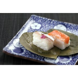 柿の葉すし【小鯛・さけ】21個入|kinokawasushi