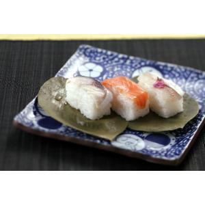 柿の葉すし【小鯛・さば・さけ】24個入|kinokawasushi