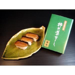 柿の葉すし【しいたけ】6個入|kinokawasushi