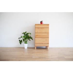 チェスト/ナチュラル50 収納家具 サイド チェスト たんす 箪笥|kinomama
