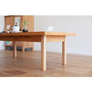 センターテーブル/ナチュラル120|kinomama