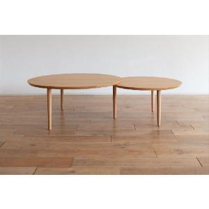 ローテーブル 座卓 センターテーブル/バルーン90-2[アルダー]|kinomama