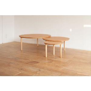 センターテーブル/バルーン90-3[オーク]|kinomama
