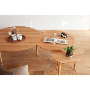 センターテーブル/バルーン90-3[アルダー]|kinomama