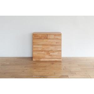 チェスト/ナラチュル90-4 衣類収納 収納家具 チェスト たんす|kinomama
