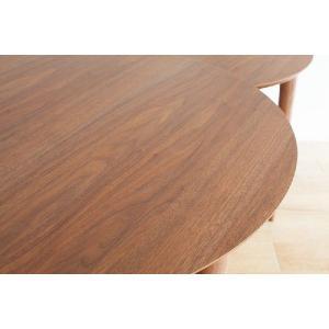 ダイニングテーブル/バルーン[ウォールナット]|kinomama
