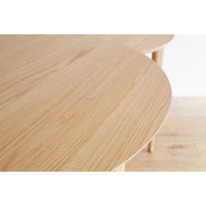 ダイニングテーブル/バルーン[ホワイトオーク]|kinomama