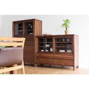 食器棚/カノ115ロータイプ|kinomama