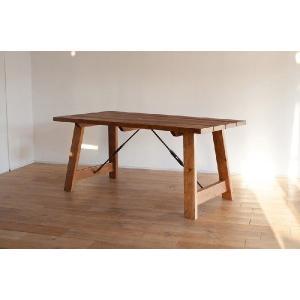 ダイニングテーブル/ダンク160 ダイニングテーブル アイアン|kinomama