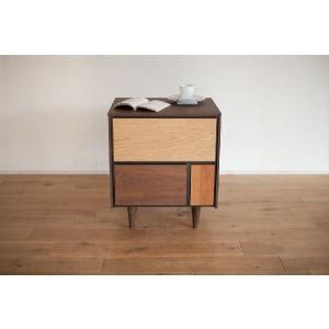 サイドチェスト/ネスタ53 衣類収納 収納家具 サイドボード たんす|kinomama