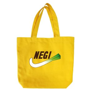 オリジナルキャンバスバッグ「NEGI] kinomi
