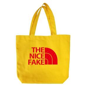 オリジナルキャンバスバッグ「THE NICE FAKE」 kinomi