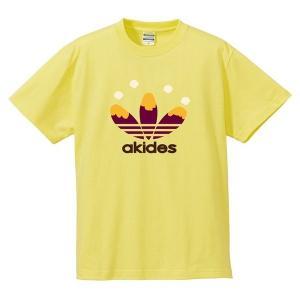 (ゆうパケット対応)おもしろキッズTシャツ 「akides」 ジュニアサイズの半袖Tシャツ kinomi