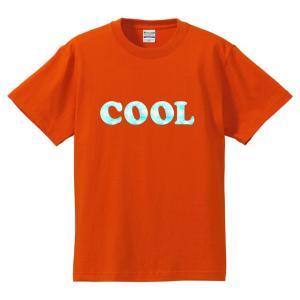 【ゆうパケット対応】おもしろTシャツ 「COOL」ジョーク/COOL/涼しい/メンズ/レディース/tshirts/サイズS〜XL 気分だけも涼しく|kinomi