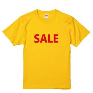 【ゆうパケット対応】おもしろTシャツ 「SALE」 マネキンに着せてアピール力UP!|kinomi