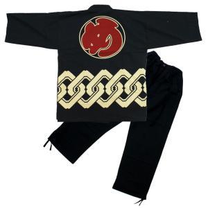 和柄抜染作務衣 「め組」|kinomi