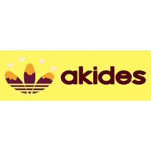 akides おもしろステッカー(横タイプ) パロディ ジョーク 【ゆうパケット対応】|kinomi