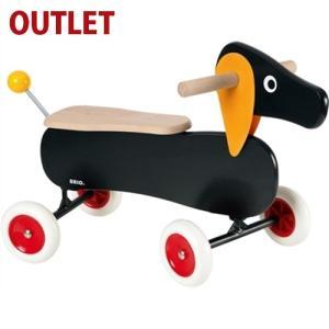 【20%OFF アウトレット品 キッズ】乗用玩具 木のおもちゃ BRIO ライドオン ダッチー|kinoomocha