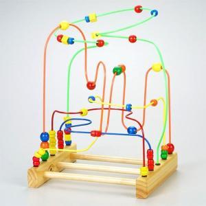 木のおもちゃ educo エデュコ スーパーメイズ|kinoomocha