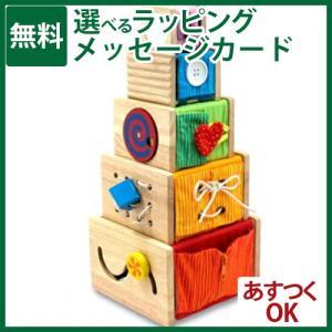 木のおもちゃ I'm TOY アイムトイ トレーニングキューブ|kinoomocha