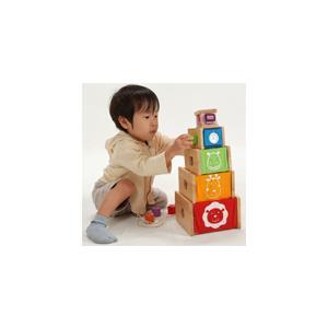 木のおもちゃ I'm TOY アイムトイ トレーニングキューブ|kinoomocha|02