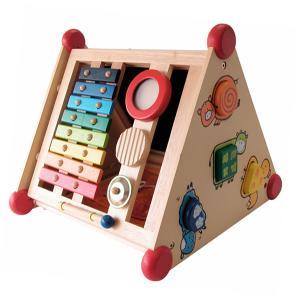 木のおもちゃ 知育玩具 出産祝い お誕生日プレゼントに人気 I'm TOY アイムトイ 指先レッスンボックス【Y】|kinoomocha