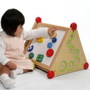 木のおもちゃ 知育玩具 出産祝い お誕生日プレゼントに人気 I'm TOY アイムトイ 指先レッスンボックス【Y】|kinoomocha|02