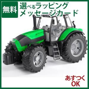 ドイツ Bruder ブルーダー Deutz(ドゥーツ) Agrotoron X720 トラクター 1 16 ミニカーごっこ遊び-P|kinoomocha
