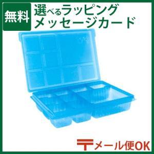 ブロック LaQ(ラキュー)/ヨシリツ フリースタイルパーツボックス(クリアブルー)|kinoomocha