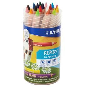 【文房具】ドイツ・リラ社 LYRA ファルビー 軸白木18色PPボックスセット 鉛筆 色鉛筆【P】|kinoomocha