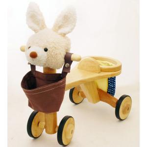 乗用玩具 jun-collection アニマルバイク ウサギ kinoomocha