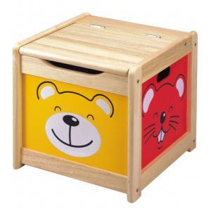 木のおもちゃ箱 Pintoy ピントーイ おもちゃ箱 kinoomocha