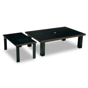 座卓 セレブ 幅120cm ブラック色|kinositakagu