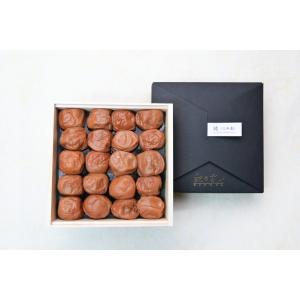 純(三年漬) 木箱詰め 400g 【塩分】約22%|kinoya-kawabe-foods