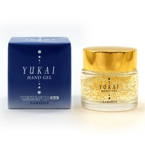 金箔化粧品「湯快ハンドジェル(保湿クリーム)(34g)」|kinpakuya