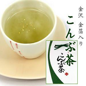 金箔入昆布茶「金沢 こんぶ茶」|kinpakuya