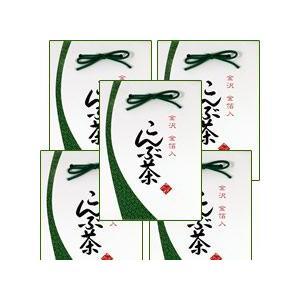 金沢 金箔入[こんぶ茶] お徳用5点セット※ kinpakuya