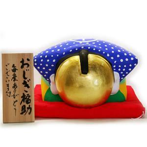 金箔貼 福助置物「おじぎ福助(大)」 kinpakuya