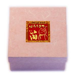 【海外販売NG】 金沢箔貼 はろうきてぃ「丸小物入れ(桜)」|kinpakuya|03