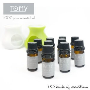 Toffy 100% ピュアエッセンシャルオイル(残8種)|kinpakuya