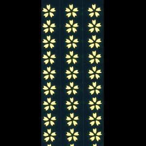 蒔絵シール「ホログラム さくら」|kinpakuya