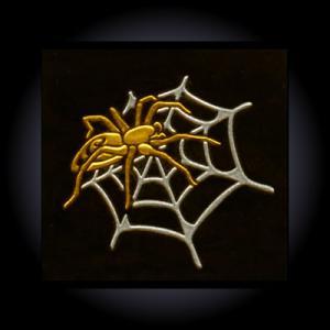 金蒔絵うつし絵「蜘蛛」|kinpakuya