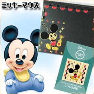 Disney うつし金蒔絵「モダンペットディズニー/ミッキー」|kinpakuya