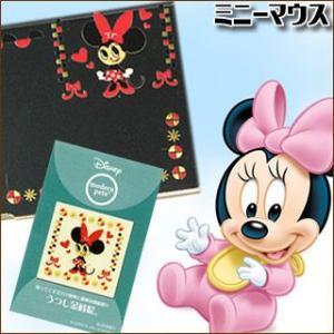 Disney うつし金蒔絵「モダンペットディズニー/ミニー」|kinpakuya