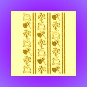 うつし金蒔絵「粋/手拭い柄よき琴菊」 kinpakuya